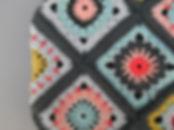 Handmade crochet shoulder bag pattern.