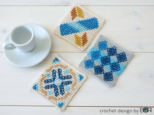 Portuguese Coffee Placemat 010 Crochet Patterns Magyarorszg