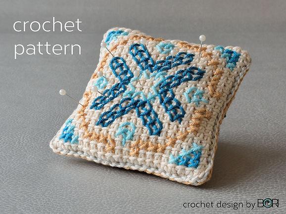 crochet pincushion pattern