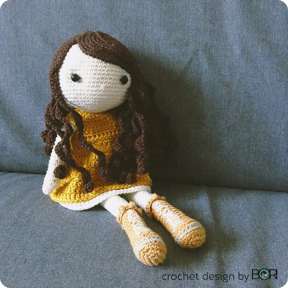 My first doll Cecily / horgolt babám, Cili
