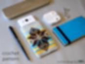 phone case crochet diy kit