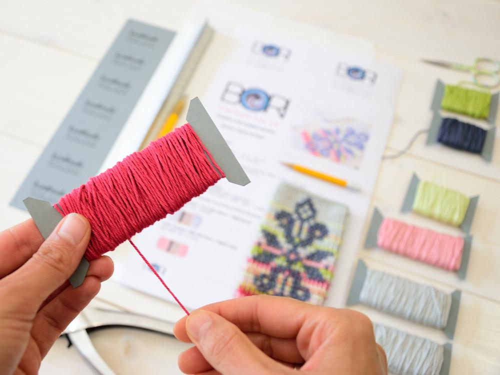 making the crochet kit