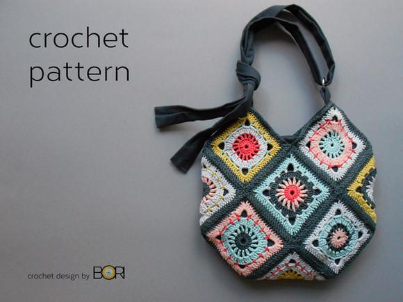 My most loved crocheted bag pattern is available in Turkish! En sevilen örgü çanta modelimin tarifi
