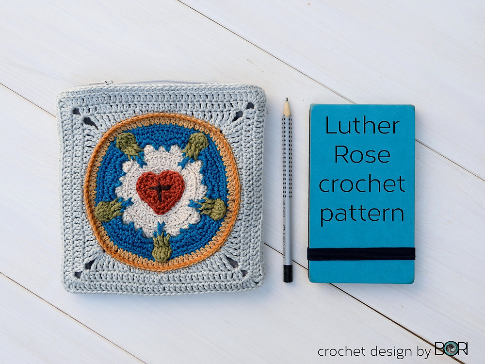 Luther Rose crochet pattern