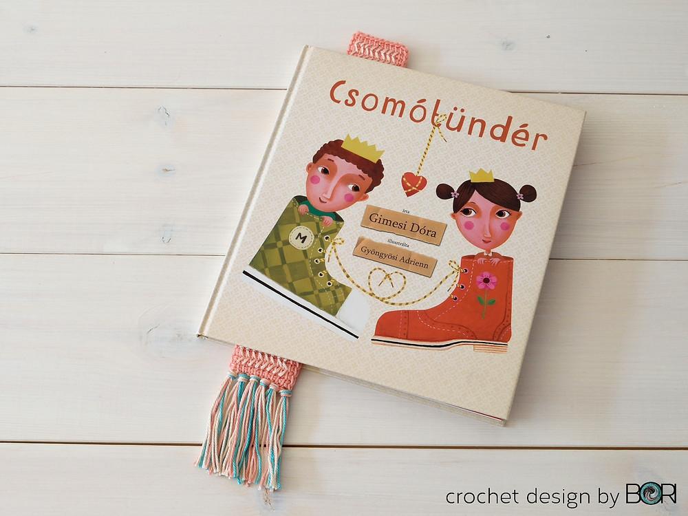 crochet name bookmark pattern