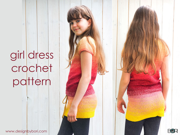 Tutti Frutti Girl Dress - New crochet pattern!