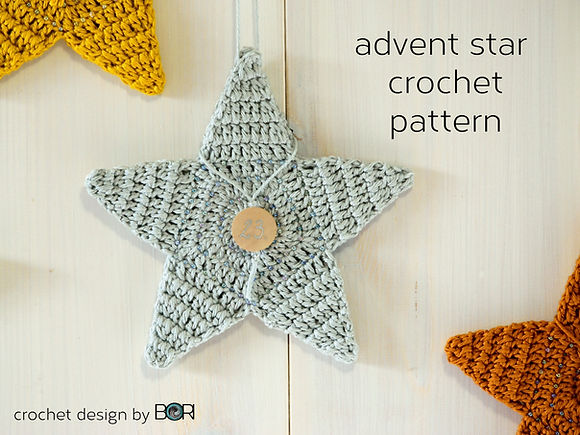 crochet star pattern