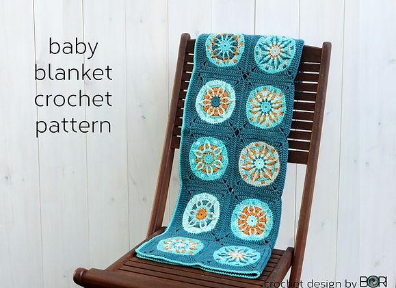 crocheted baby blanket pattern