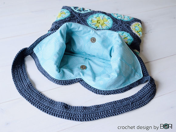 shoulder or tote bag crochet pattern