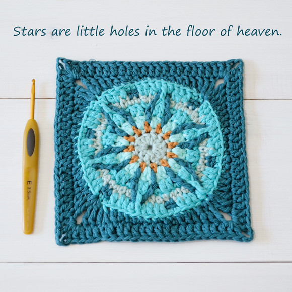 Stars are little holes in the floor of heaven.