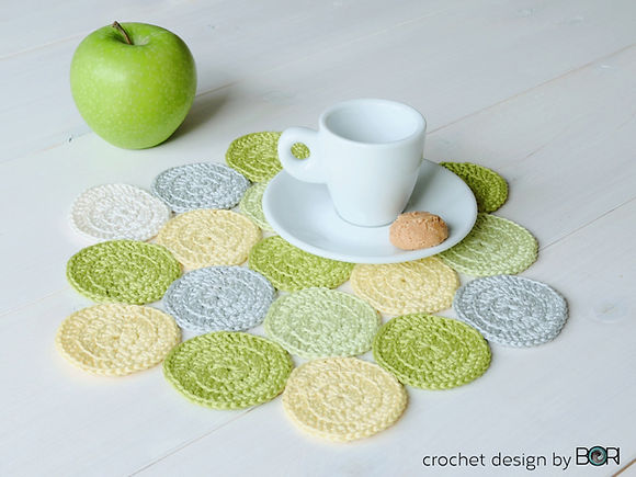 free crocheted placemat pattern