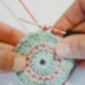 standing double crochet, dc