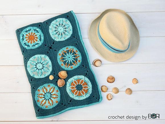 Handmade baby blanket pattern