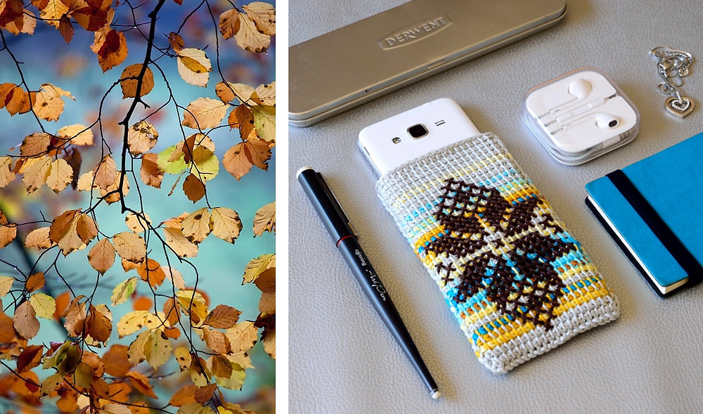 crochet phone case diy