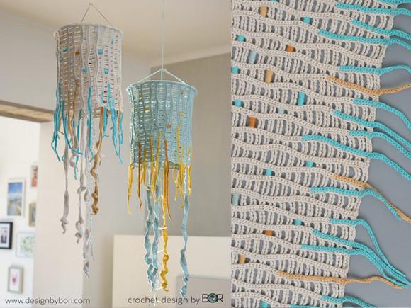 New - Jellyfish Led Lighting Lantern