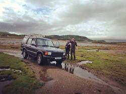 At low tide in Port Ramsay