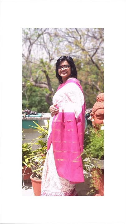 Sungudi Saree from Indian Artizans