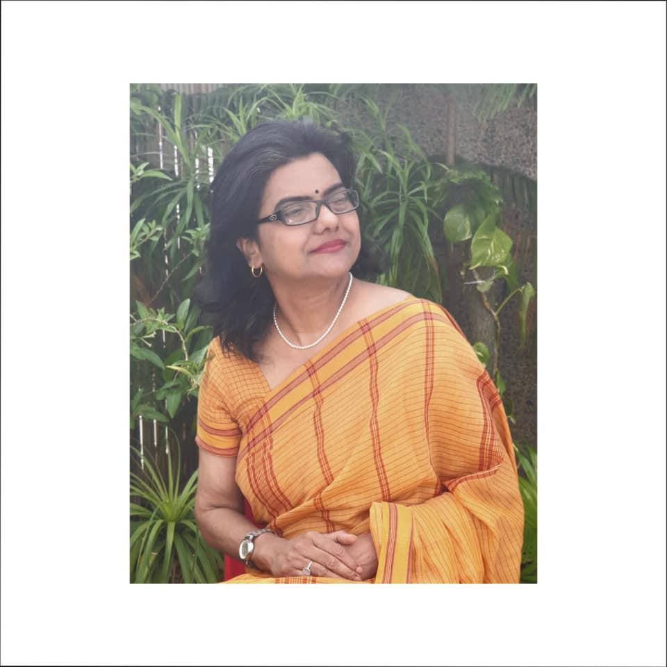 Mustard South Indian Gamcha Saree at www.indianartizans.com
