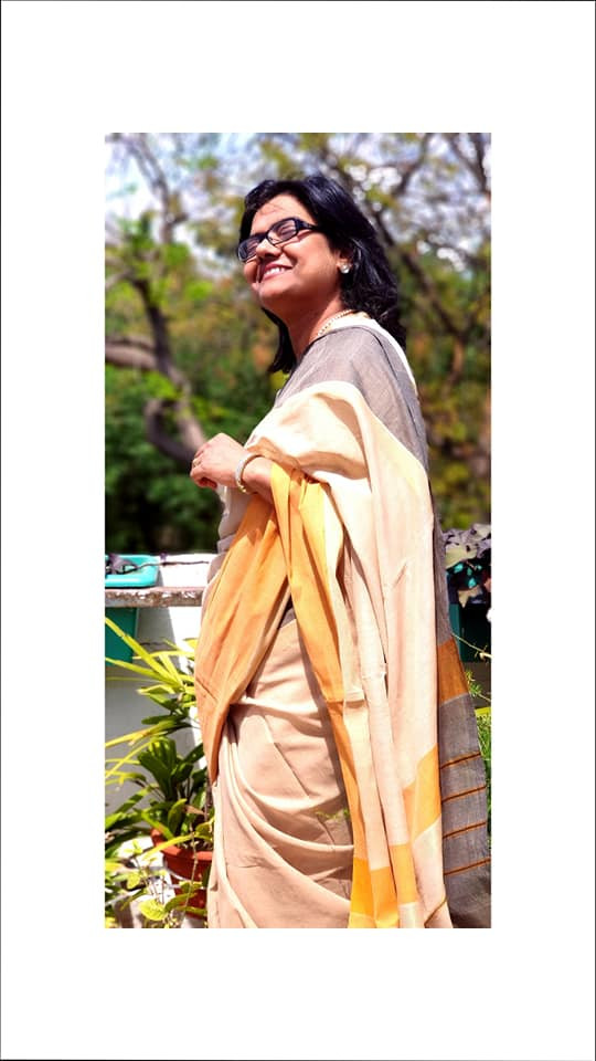 Handwoven Coimbatore Cotton Saree only at www.indianartizans.com