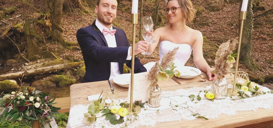 Les mariés bohême, triquent