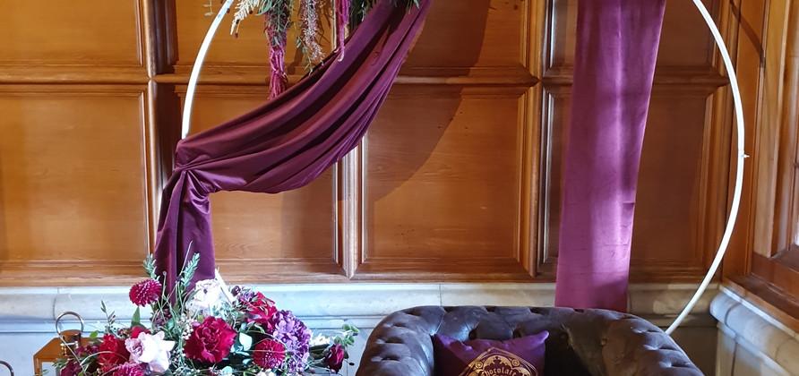 Arche de mariage pour photobooth