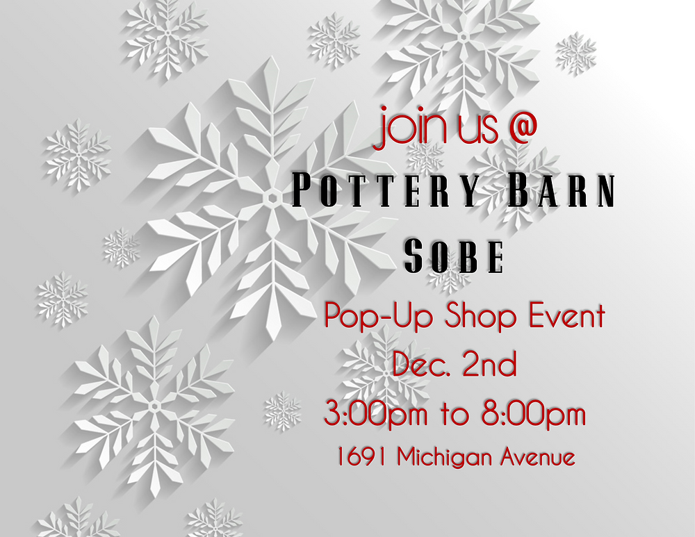 You're invited to Pottery Barn Sobe