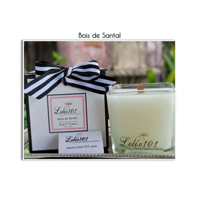Bois de Santal scented luxury candle 12oz/340g