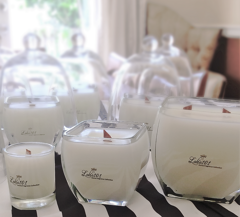 Candles, petit bougie, bougie, woodwick candles, scentedcandles, luxury home fragrance, glass jars, glass domes, lolio101, home decor, gifts, hand made candles, dragonfly, black and white stripes