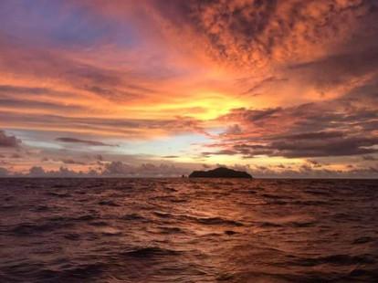 Cabuya Island Sunset