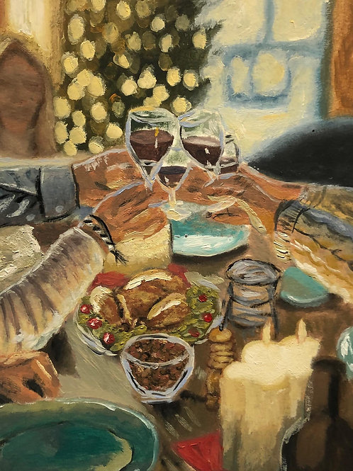 Toast to a Lovely Meal