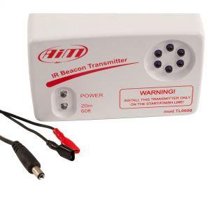 Infrared Beacon/Optical Lap Transmitter