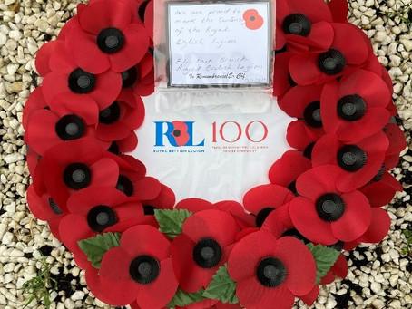 100th Birthday of the Royal British Legion