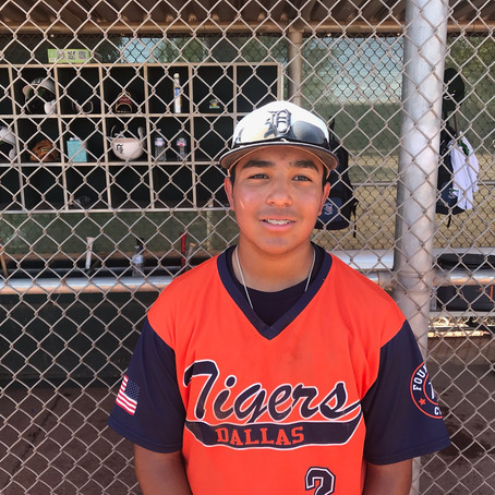 13-year-old Estrada solid in 16U championship game