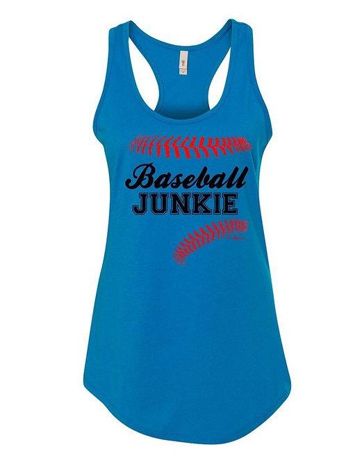 Women's Tank - Baseball Junkie