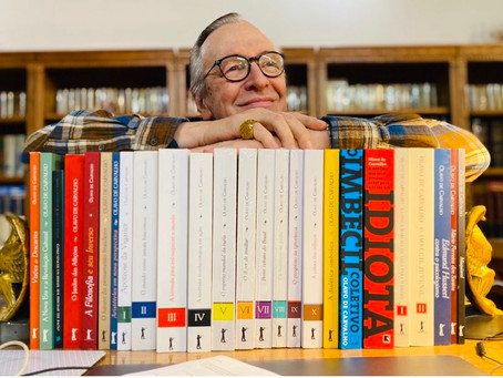 Um muro de livros para conter e implodir a hegemonia cultural da esquerda, sugere o filósofo