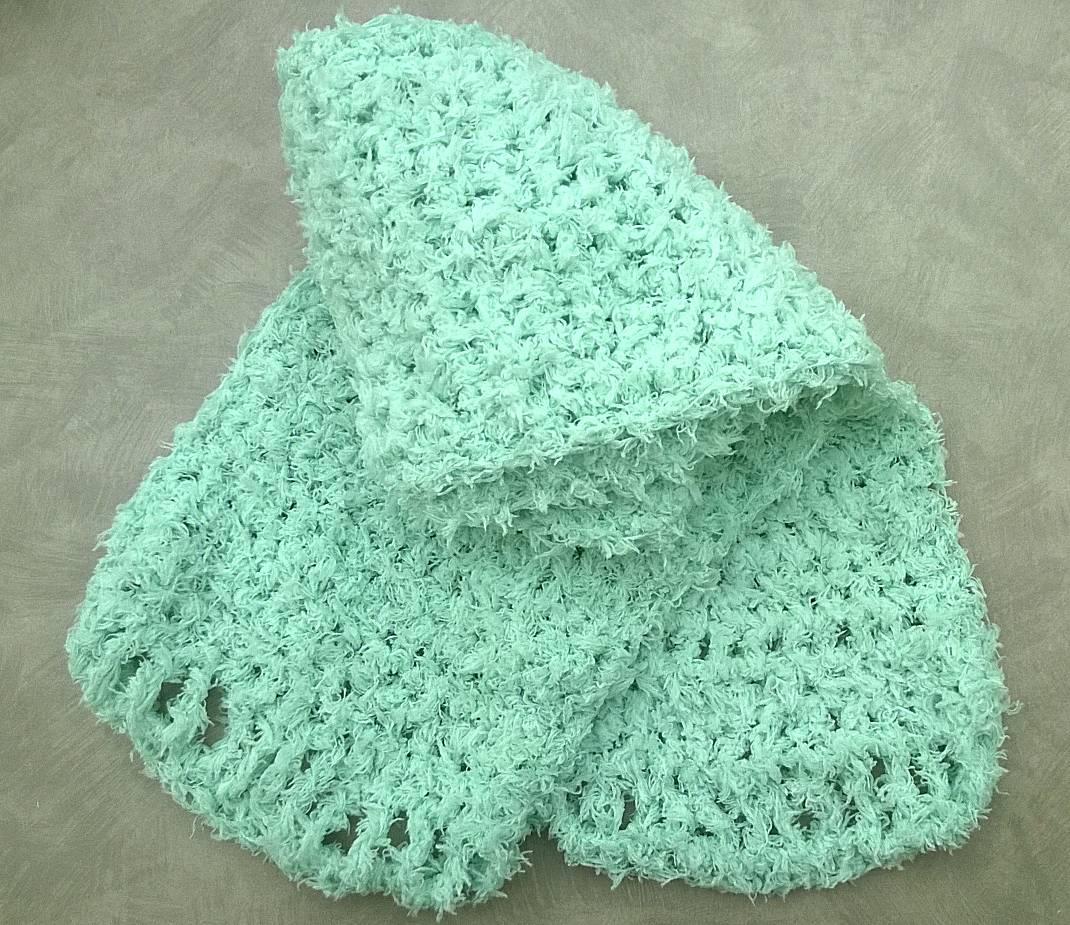 Crochet Scarf by Abby Erreger