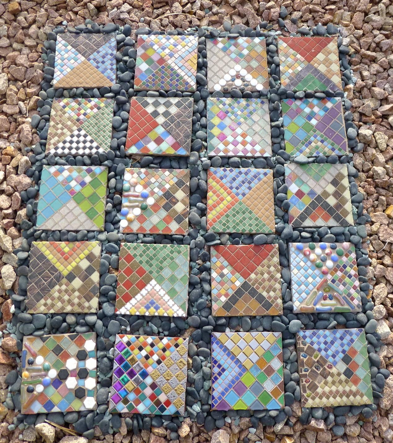 Mosaic Quilt by Franki Roizman