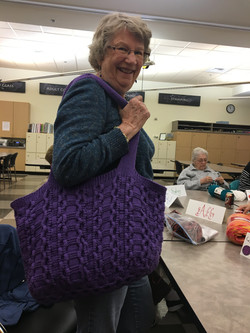 Knitted Bag-Mary Kay Britton 2019