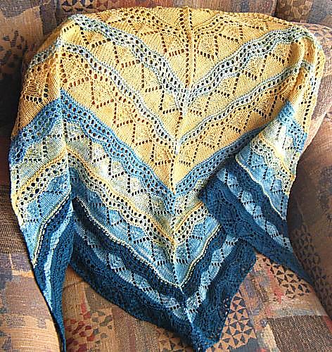 Knit Shawl by Marcea Reid
