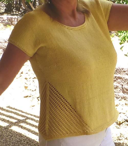 Knit Top by Marcea Reid