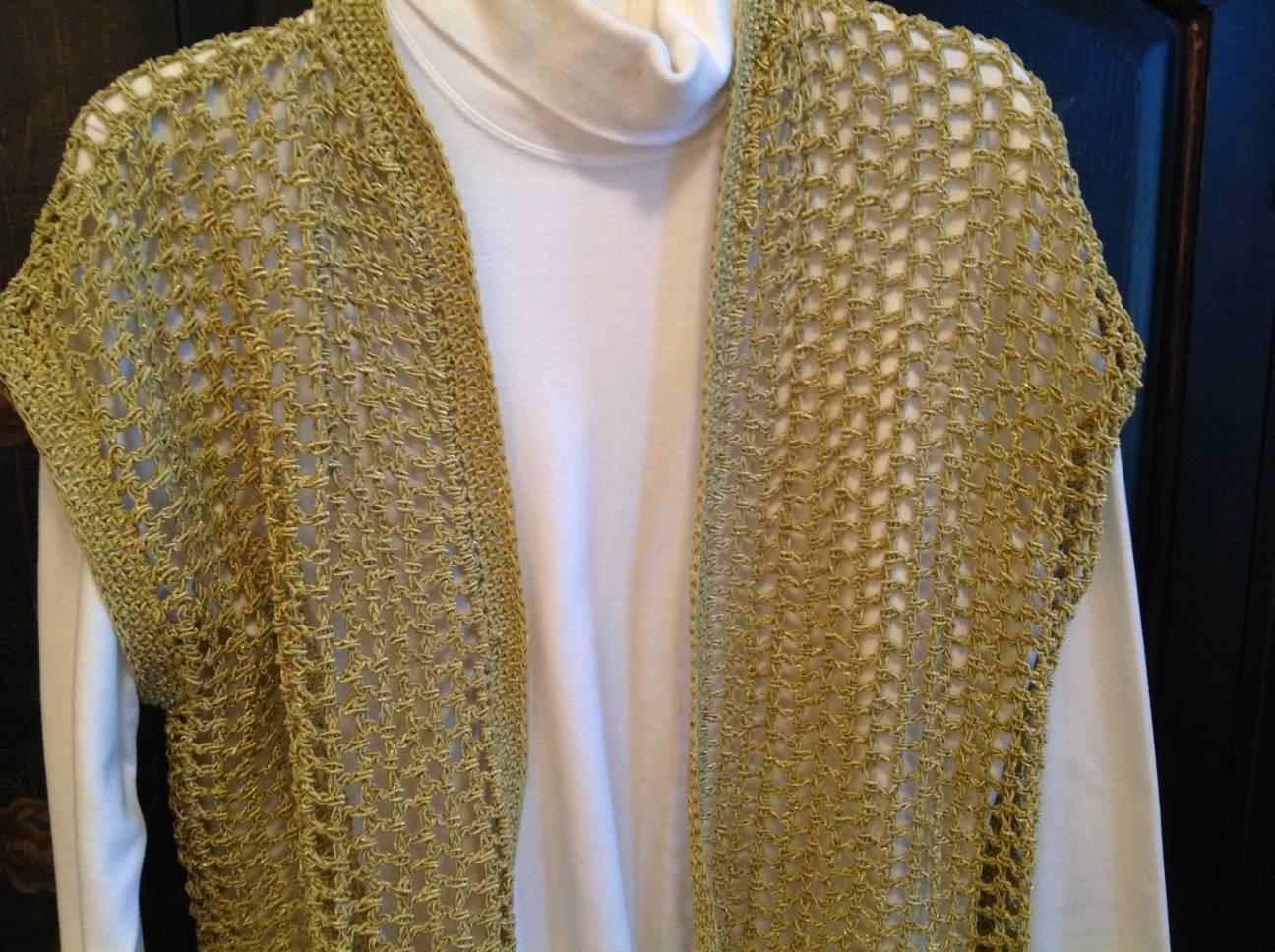 Crochet Vest by Sandy Watkins
