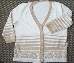 Stranded Knit Sweater by Marcea Reid