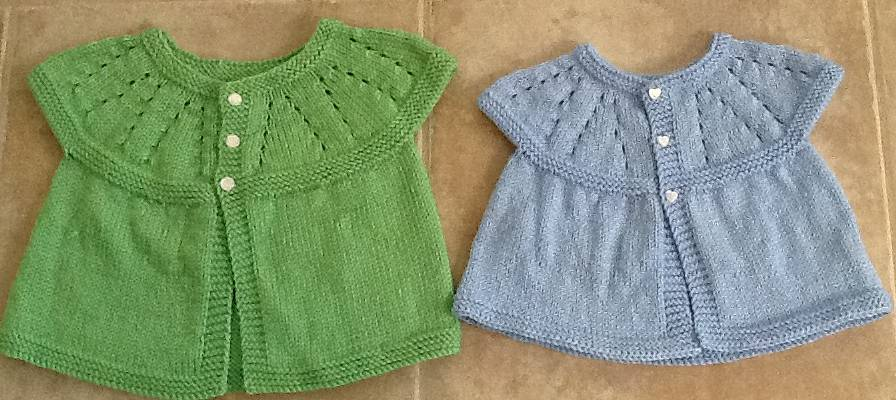 Baby Sweaters by Jeri McCurnin
