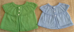 Baby Sweaters by Jeri McCurnin