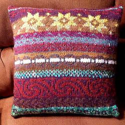 Knit Pillow by Marcea Reid