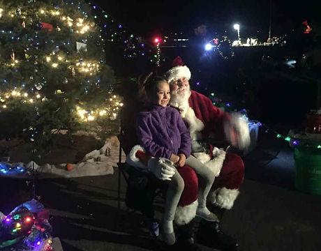 Santa In Coffey Park