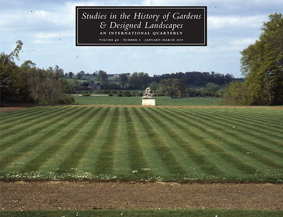 Studies in the History of Gardens & Designed Landscapes
