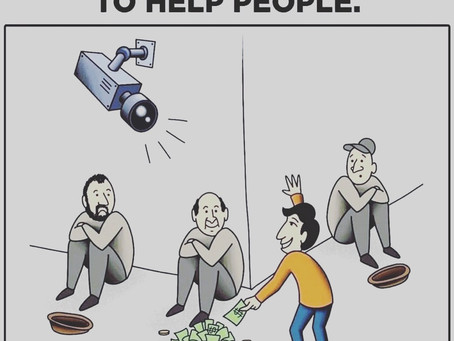 HELP OTHERS WITHOUT A REASON!