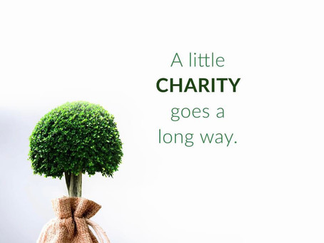 Charity at its best as A calling!!