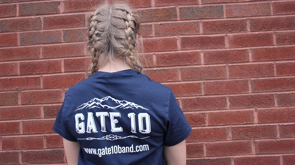Gate 10 T-Shirt (Navy Blue)